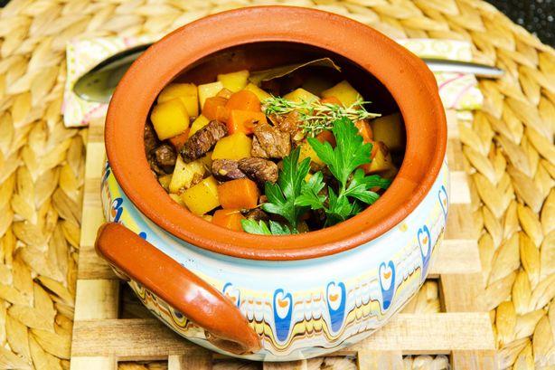 Ирландское овощное рагу из мраморной говядины